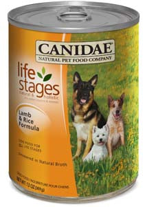 Canidae Life Stages Lamb & Rice Simmered in Natural Broth Canned Dog Food - NJ Pet Supply