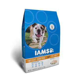 Iams Weight Control Dry Dog Food 29.1 Pound Bag at NJPetSupply.com