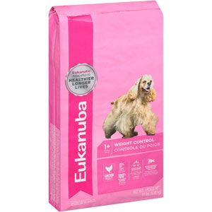 Eukanuba Adult Weight Control Dry Dog Food 15 Pound Bag at NJPetSupply.com