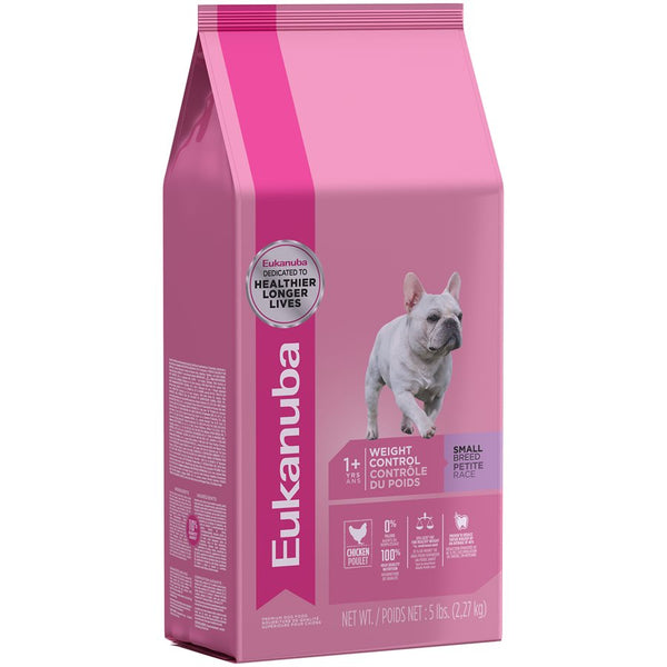 Eukanuba Adult Small Breed Weight Control Dry Dog Food at NJPetSupply.com