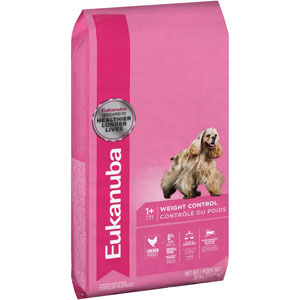 Eukanuba Adult Weight Control Dry Dog Food 30 Pound Bag at NJPetSupply.com