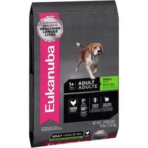 Eukanuba Adult Maintenance Small Bite Dry Dog Food 16 Pound Bag at NJPetSupply.com