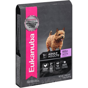 Eukanuba Adult Small Breed Dry Dog Food 15 Pound Bag, 15-lb at NJPetSupply.com
