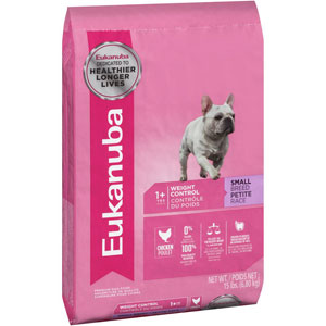 Eukanuba Adult Small Breed Weight Control Dry Dog Food 15 Pound Bag at NJPetSupply.com