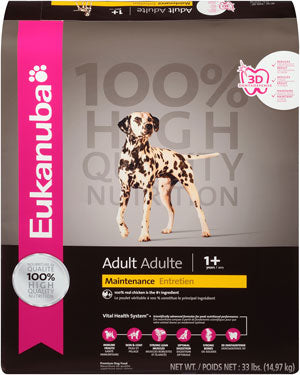 Eukanuba Adult Chicken Maintenance Formula Dry Dog Food 30 Pound Bag at NJPetSupply.com