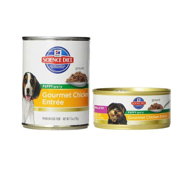 Science Diet Puppy Gourmet Chicken Entree Canned Dog Food
