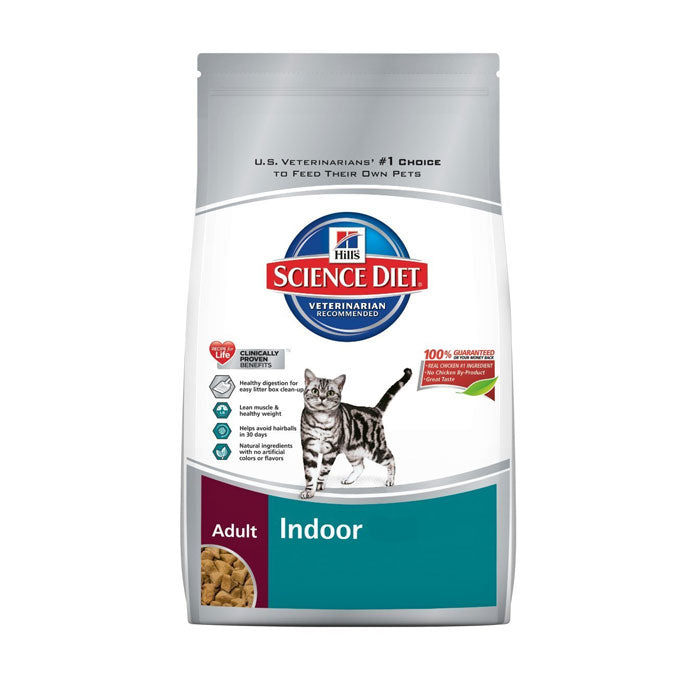 Science Diet Cat Adult Indoor Dry Cat Food 3.5 Pound Bag at NJPetSupply.com