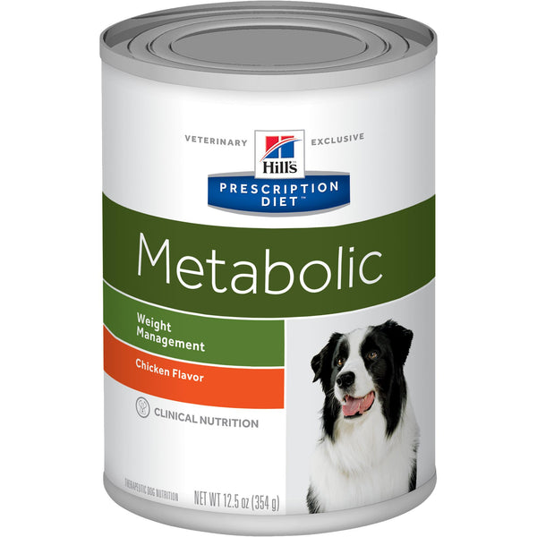 Hill's Prescription Diet Metabolic Canine Chicken 1957 Canned Dog Food at NJPetSupply.com