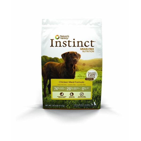 Nature's Variety Instinct Chicken Dry Dog Food at NJPetSupply.com