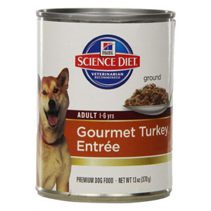 Science Diet Adult Gourmet Turkey Entree Canned Wet Dog Food at NJPetSupply.com