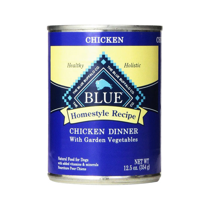 Blue Buffalo Homestyle Recipe Chicken Dinner w/Garden Vegetables Canned Wet Dog Food at NJPetSupply.com
