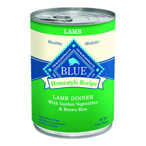 Blue Buffalo Homestyle Recipe Lamb Dinner with Garden Vegetables Canned Dog Food - NJ Pet Supply