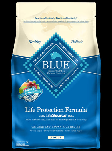 Blue Buffalo Life Protection Formula Adult Chicken & Brown Rice Dry Dog Food - NJ Pet Supply