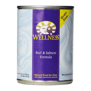 Wellness Beef & Salmon Canned Cat Food