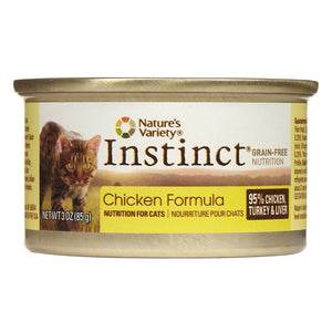 Nature's Variety Instinct Chicken Diet Canned Cat Food
