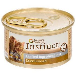 Nature's Variety Instinct Duck Diet Canned Wet Cat Food at NJPetSupply.com