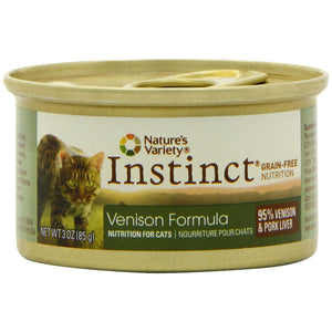 Nature's Variety Instinct Venison Diet Canned Wet Cat Food at NJPetSupply.com