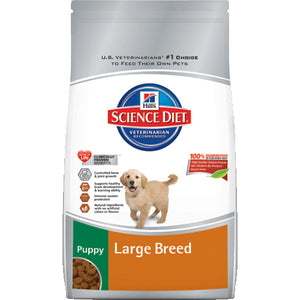Science Diet Puppy Large Breed Dry Dog Food 30 Pound Bag at NJPetSupply.com