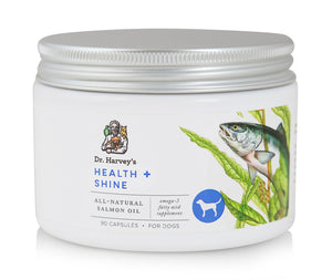 Dr. Harvey's Health and Shine, Fish Oil Capsules for Dogs - NJ Pet Supply