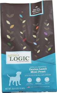Nature's Logic Lamb Dinner Fare Dry Dog Food 26.4 Pound at NJPetSupply.com