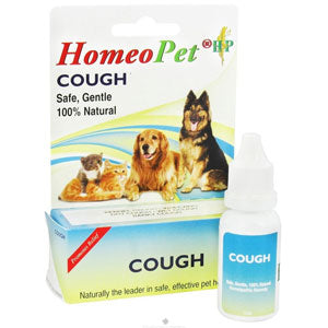 Homeopet Cough Relief for Dogs and Cats at NJPetSupply.com