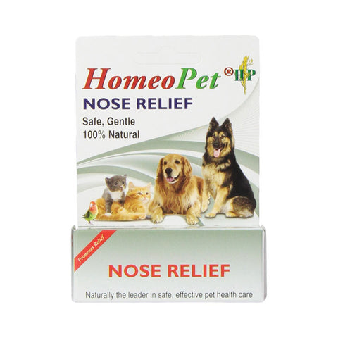 Homeopet Nose Relief for Dogs and Cats at NJPetSupply.com