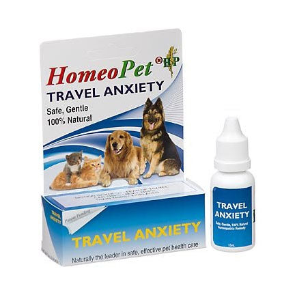 Homeopet Travel Anxiety for Dogs and Cats at NJPetSupply.com