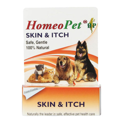 Homeopet Skin & Itch Relief for Dogs and Cats at NJPetSupply.com