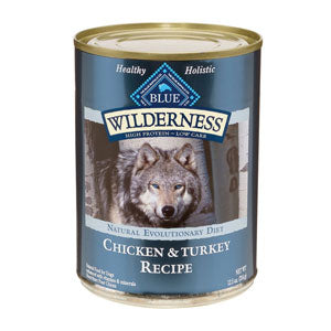 Blue Buffalo Wilderness Turkey & Chicken Grill Canned Wet Dog Food at NJPetSupply.com