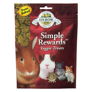 Oxbow Simple Rewards Veggie Small Animal Treats at NJPetSupply.com