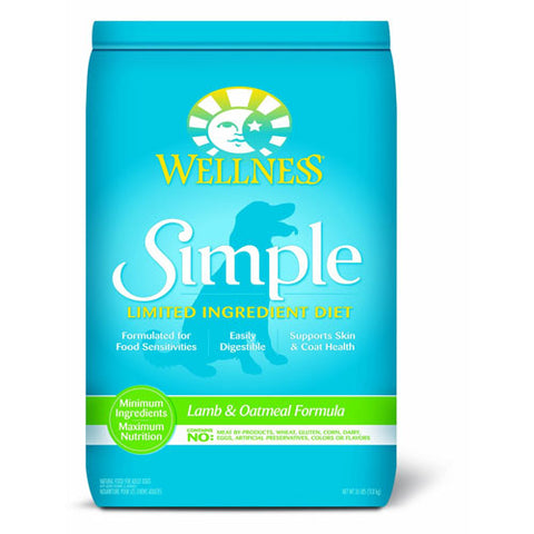 Wellness Simple Dog Lamb & Oatmeal Dry Dog Food