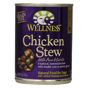 Wellness Chicken Stew with Carrots & Potatoes Canned Dog Food