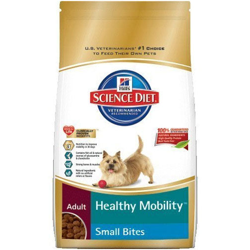 Science Diet Adult Healthy Mobility Small Bites Dry Dog Food at NJPetSupply.com