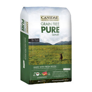 Canidae Grain Free PURE Land with Fresh Bison Dry Dog Food - NJ Pet Supply