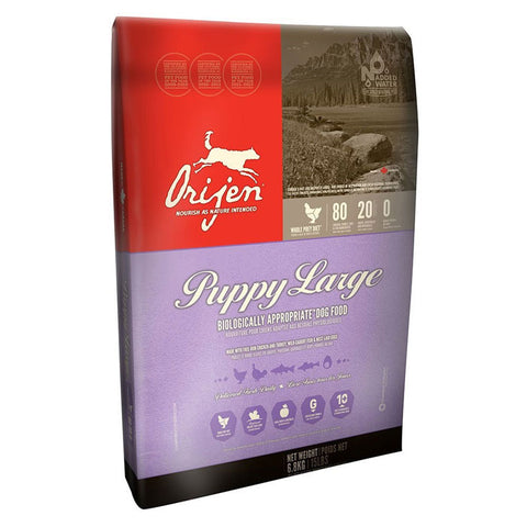 Orijen Large Breed Puppy Dry Dog Food 13 Pound Bag at NJPetSupply.com