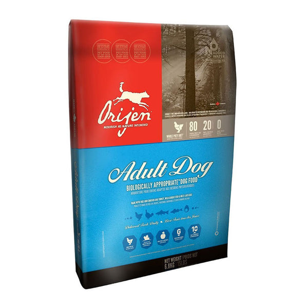 Orijen Adult Original Dry Dog Food 4.5 Pound Bag at NJPetSupply.com