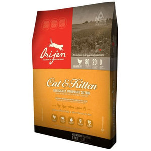 Orijen Dry Cat & Kitten Food 4 Pound Bag at NJPetSupply.com
