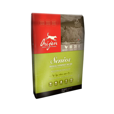 Orijen Senior Dry Dog Food 4.5 Pound Bag at NJPetSupply.com
