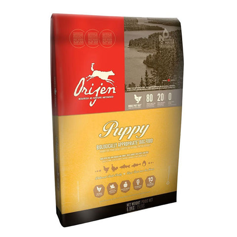 Orijen Puppy Dry Dog Food 4.5 Pound Bag at NJPetSupply.com