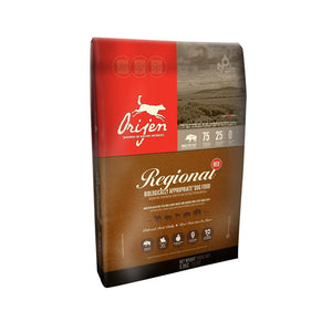 Orijen Regional Red Dry Dog Food 4.5 Pound Bag at NJPetSupply.com