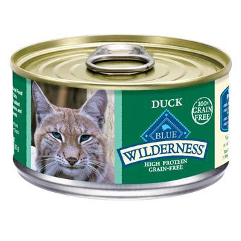 Blue Buffalo Wilderness Duck Recipe Canned Cat Food - NJ Pet Supply