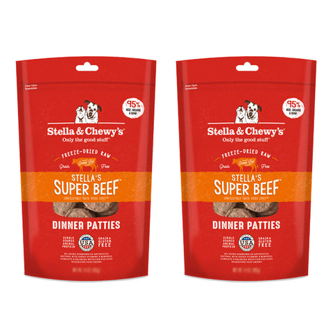 Stella & Chewy's Beef Dinner 25oz Freeze Dried Twin Pack