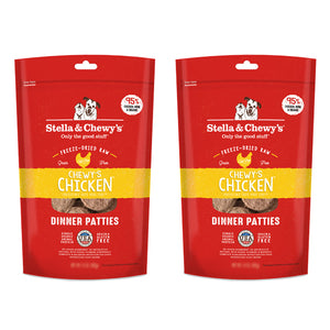Stella & Chewy's Chicken Dinner 25oz Freeze Dried Twin Pack