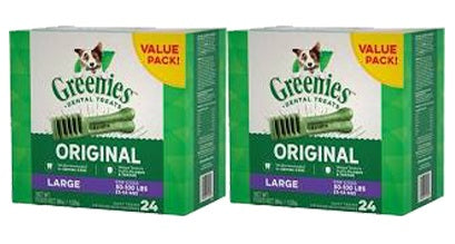 Greenies Dental Chews Dog Treats size Large 36-oz Twin Pack at NJPetSupply.com