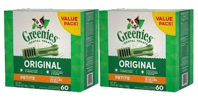 Greenies Dental Chews Dog Treats size Petite 36-oz Twin Pack at NJPetSupply.com