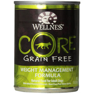 Wellness Core Weight Management Canned Wet Dog Food at NJPetSupply.com