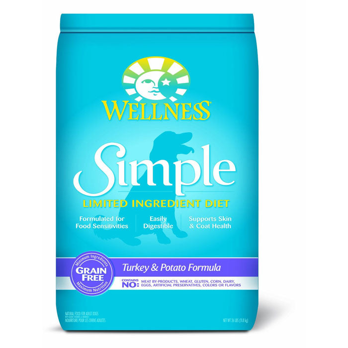 Wellness Simple Dog Turkey & Potato Dry Dog Food