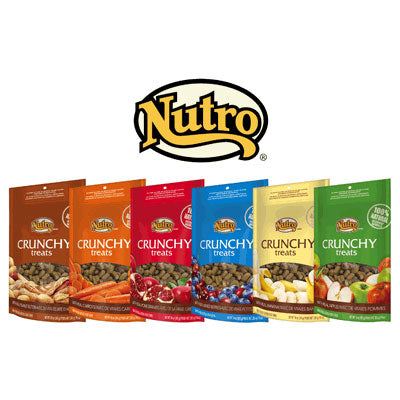 Nutro Crunchy Dog Treats, Apple Flavor, 10 Ounce Package at NJPetSupply.com
