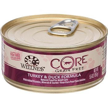 Wellness Core Turkey & Duck Formula Canned Wet Cat Food at NJPetSupply.com