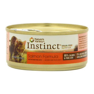 Nature's Variety Instinct Salmon Diet Canned Wet Cat Food at NJPetSupply.com